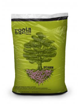 Roots Organics Big Worm, Worm Castings, 1 cu ft