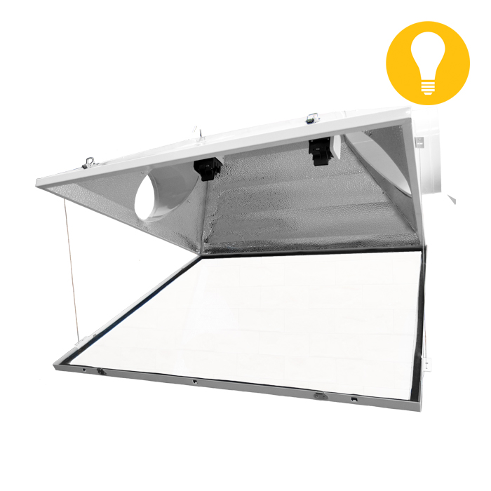 Triple X2 Double Ended Air Cooled Reflector 6″