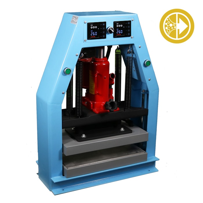 Bubble Magic 8″ x 16″ Hydraulic/Pneumatic Heat Press 12 Ton