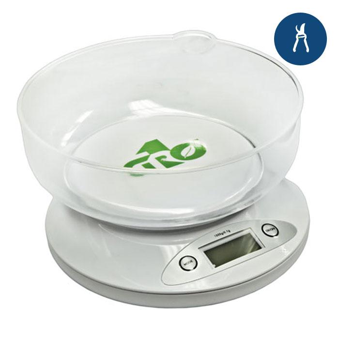 Grow1 Nutrient Digital Scale w/bowl 2.5lb