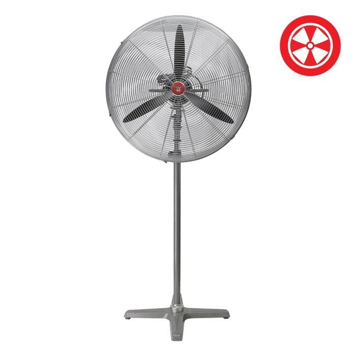 30″ F5 Industrial Oscillating Pedestal Stand Fan