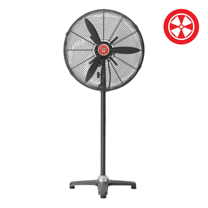 18″ F5 Industrial Oscillating Pedestal Stand Fan