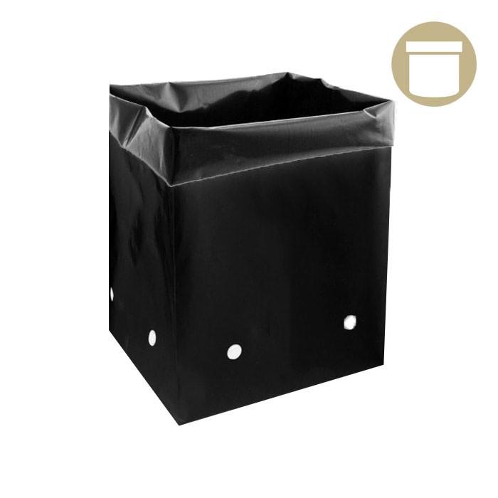 5 Gal. Black PE Grow Bag (25 Per Pack)