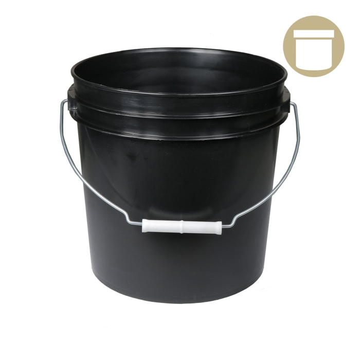 5 Gal. Black Bucket w/handle