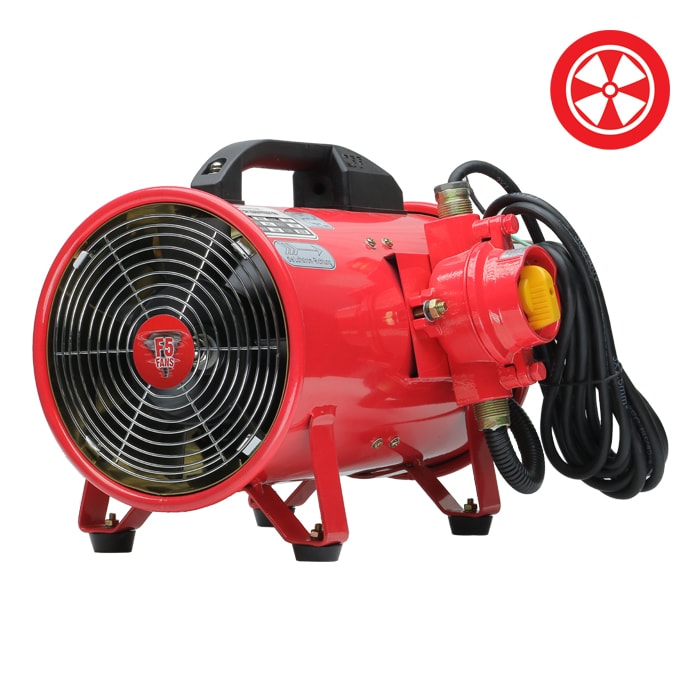 Explosion Proof Fan >> 8 F5 Explosion Proof Fan