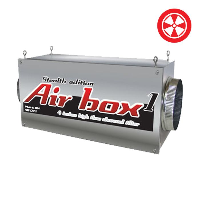 Air Box 1, Stealth Edition (4″)