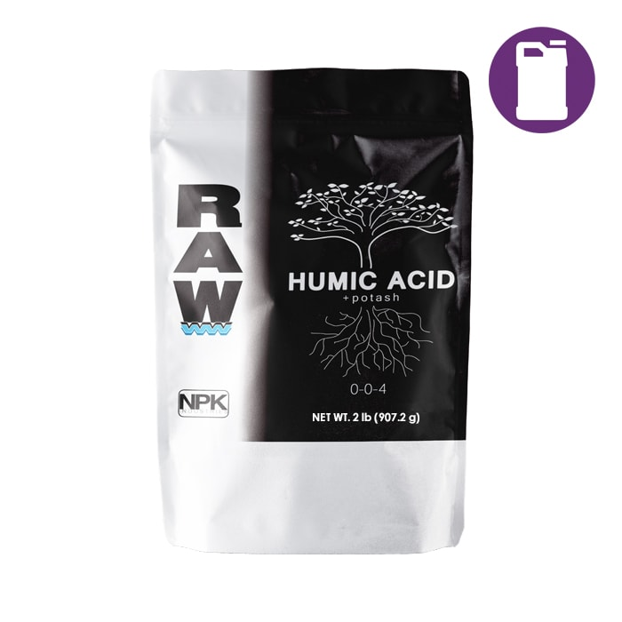 NPK RAW Humic Acid 2LB