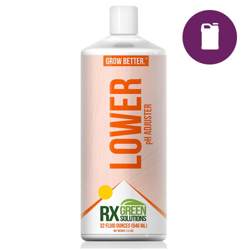 RX Green Solutions Lower 128 oz