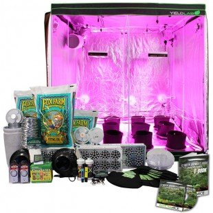 6.5×6.5ft LED Soil Complete Indoor Grow Tent System